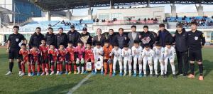 청주 FCK, 중국 축구소장에 4대 3 승리 거둬